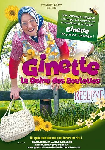 6nhy9-AFFICHE GINETTE VALERY show