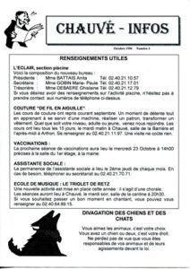 1996 - Bulletin municipal 003