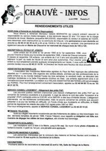 1998 - Bulletin municipal 009