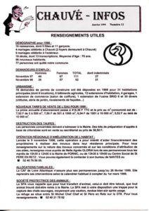 1999 - Bulletin municipal 011