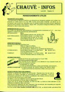 1999 - Bulletin municipal 012