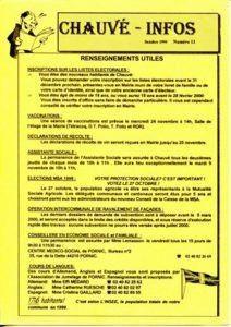 1999 - Bulletin municipal 013