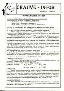 1999 - Bulletin municipal 014