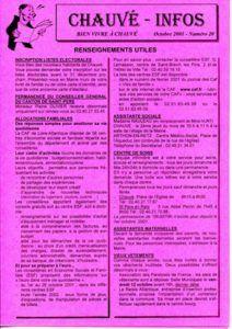 2001 - Bulletin municipal 020