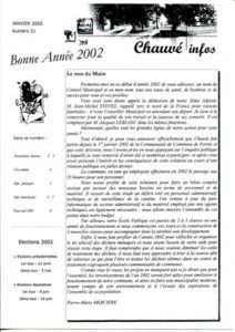 2002 - Bulletin municipal 021