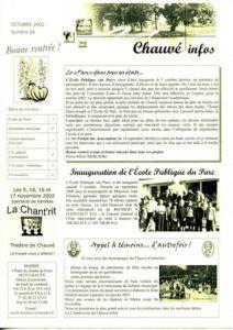 2002 - Bulletin municipal 024