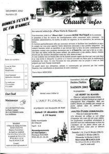 2002 - Bulletin municipal 025