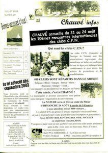2003 - Bulletin municipal 028
