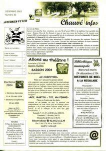 2003 - Bulletin municipal 030