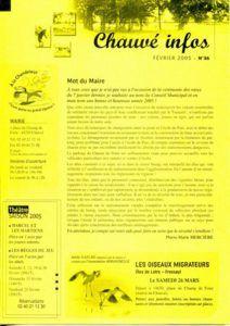 2005 - Bulletin municipal 036