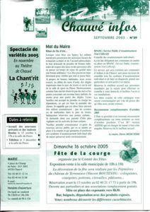 2005 - Bulletin municipal 039