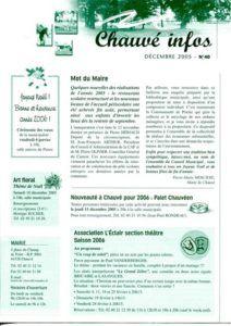 2005 - Bulletin municipal 040