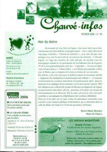 2006 - Bulletin municipal 041