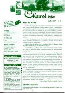 2007 - Bulletin municipal 049
