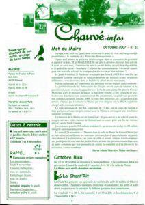 2007 - Bulletin municipal 051