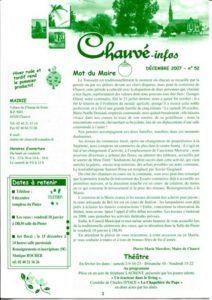 2007 - Bulletin municipal 052