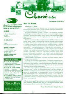 2009 - Bulletin municipal 061