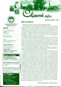 2009 - Bulletin municipal 062