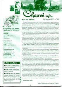 2010 - Bulletin municipal 065
