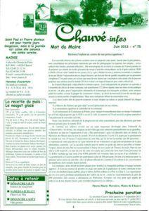 2013 - Bulletin municipal 075