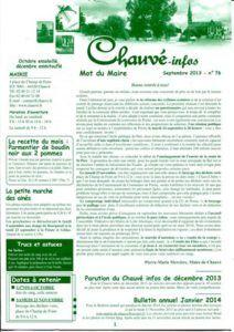2013 - Bulletin municipal 076