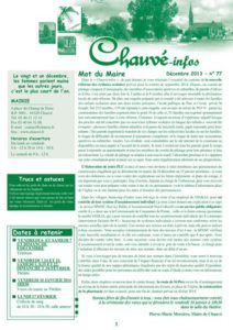 2013 - Bulletin municipal 077